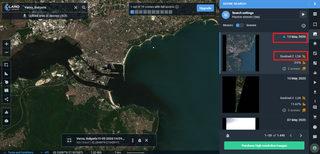 Сателитна снимка от 12 май т.г.